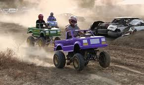 monster truck shows uk mini monster trucks racing at monster truck shootout at imlay fair