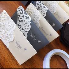 diy place cards best 25 diy place cards ideas on