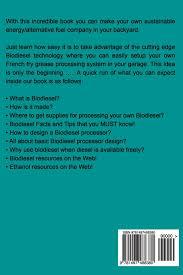 bio diesel basics a simple bio diesel handbook amar patel