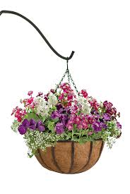 hanging flowers artificial flowers hanging baskets chuck nicklin