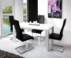 white gloss kitchen dining sets apoemforeveryday com modern dining table set glass room sets white seat candle painting wall ceramic floor gloss tables