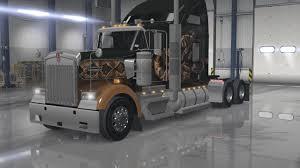 buy kenworth w900 kenworth w900 interior exterior rework v1 american truck