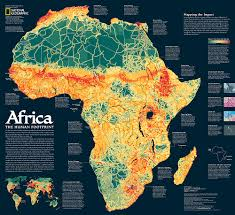 Africa Topographic Map by Africa A Storied Landscape Map