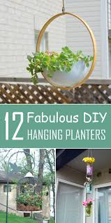 Diy Hanging Planters by It 12 Fabulous Diy Hanging Planters