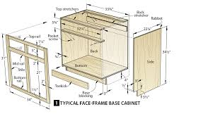 What Is The Standard Height Of Kitchen Cabinets by Make Cabinets The Easy Way Wood Magazine
