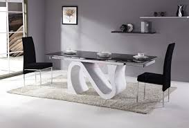 table de cuisine fly table laqu blanc fly trendy gallery of ikea meuble console design