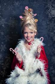Cindy Lou Halloween Costume Laughing Latte Holiday Hits Series Christmas Costume