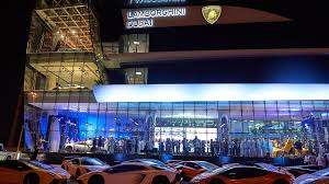 lamborghini showroom building the onlooker