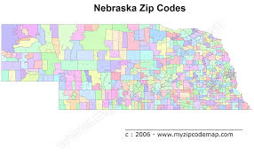 New Orleans Zip Code Map Nebraska Zip Code Maps Free Nebraska Zip Code Maps