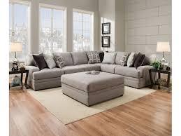 Living Room Furniture Dublin Simmons Upholstery Living Room Sectional Dublin Briar Hansens