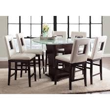 Counter Height Dining Room Furniture by Soho Espresso 7 Piece Counter Height Dining Set Rc Willey