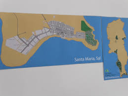 Cabo Verde Map Sal Property Development Map With Large Emphasis On Santa Maria