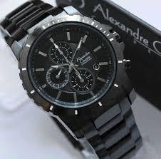 Jam Tangan Alexandre Christie Cowok jam tangan alexandre christie pria kode acp21 warna hitam original