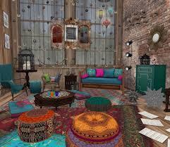 Bohemian Style Lounge Trending Boho Chic Gloriasilverston Flickr - Bohemian style interior design