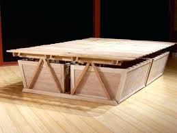 Cheap Bed Frames High Platform Beds Describing Platform Bed Frame Fancy On