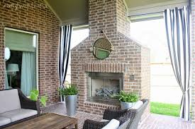 outdoor curtain for patio