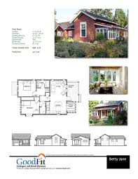 floor plans for cottages betty cottages ross chapin architects