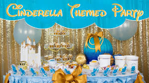 cinderella themed party table decor ideas balsacircle com youtube