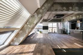 an apartment block attic conversion in tokyo by g architects