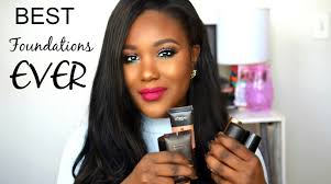 best summer foundations high end oily dry for black women