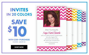 custom invites custom invitations personalized invitations party city