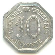 chambre de commerce de bayonne 10 centimes chambre de commerce bayonne 64 notgeld