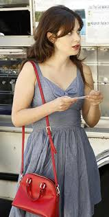 zooey deschanel new girl fashion wwzdw what would zooey deschanel s chambray cutout dress on new girl wwzdw what