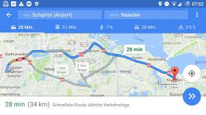 Google Maps Route by Online Resources Real Time Traffic On Google Maps On Android