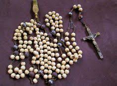 15 decade rosary htf later c1800s antique fransican third order 7 decade belt