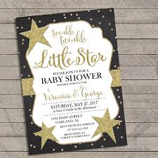 twinkle twinkle baby shower invitations twinkle twinkle baby shower invitations black