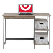 Wooden Desk With Shelves 2 Piece Set Laptop Desk U0026 4 Shelf Bookcase Reclaimed Wood