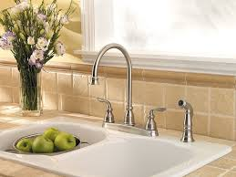 21996lf Ss by Pfister Lf 036 4cbs Avalon 2 Handle Kitchen Faucet With Side Spray