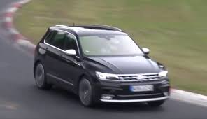 2018 volkswagen tiguan r spied for the first time at the