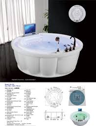 hs b239 bathtub with seat round bathtub chinese soaking tub buy