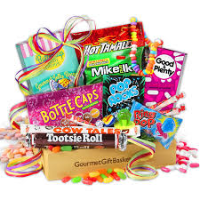 candy gift baskets nostalgic candy gift crate by gourmetgiftbaskets