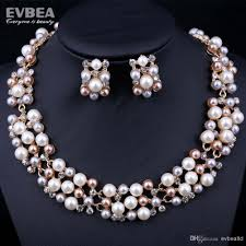 trendy pearl necklace images 2018 pearl jewelry sets elegant popular fashion designer pearl jpg
