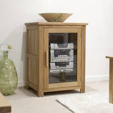 Modern Oak Furniture Buy Opus Solid Oak Hifi Cabinet Homestyle Gb Opus Oak Hi Fi Unit