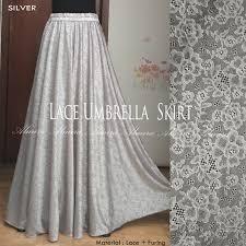 rok panjang muslim rok panjang cantik rok panjang muslimah lace umbrella 085795976055