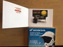 honda dominator 650 full service history shepysbikes 1395 in