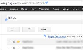 empty trash on android how to delete gmail messages on android the difference between