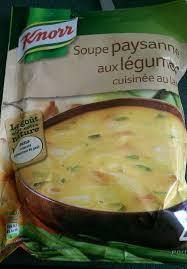 cuisiner le poireau soupe paysanne aux lã gumes cuisinã e au lard knorr g e lotte