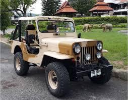 mitsubishi jeep 2015 mitsubishi j57 jeep north chiang mai u0026 region jeeps classic