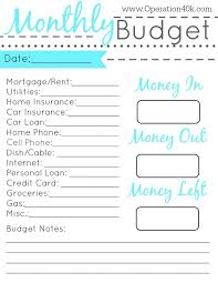 free budgets templates financial budget template best expense tracker ideas on pinterest