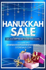 hanukkah sale hanukkah poster templates postermywall