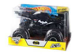 batman monster truck video amazon com wheels monster jam batman die cast vehicle 1 24