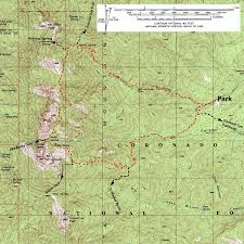 Mt Lemmon Hiking Trails Map Trail Talk Mt Wrightson U0027s Quiet Side