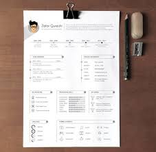 Free Professional Resume Template by 40 Best 2018 S Creative Resume Cv Templates Printable Doc