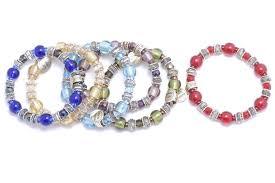 murano glass bead bracelet images Murano glass bead bracelet arthur weeks son jewelers JPG