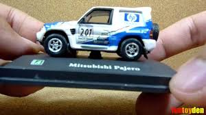 tomica mitsubishi rvr mitsubishi pajero cararama die cast car collection unboxing