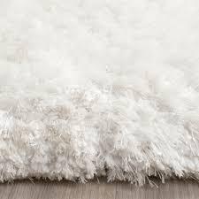 White Soft Rug Soft White Shag Rug Toronto Shag Collection Safavieh Com